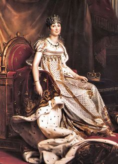 Joséphine de Beauharnais (pronounced: [ʒo.ze.fin də‿bo.aʁ.nɛ]; 23 June 1763 – 29 May 1814) was the first wife of Napoléon Bonaparte, and thus the first Empress of the French. Her first husband Alexandre de Beauharnais was guillotined during the Reign of Terror, and she was imprisoned in the Carmes prison until her release five days after Alexandre's execution.