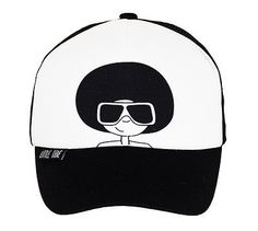 MONOCHROME HATS | Our Little Tane Trucker Hat Afro Man is instore and selling fast | Suitable for kids 7m - 4 years | Only $26.95 | Purchase today at www.littleredchick.com.au  #littletane #littleredchick #babycaps #monochrome