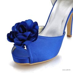 """wedding checklist Charming 4"""" Hand Made Flower & Peep-toe D'Orsay - Formal Occasion shoes (12 Colors)  $67.96"""
