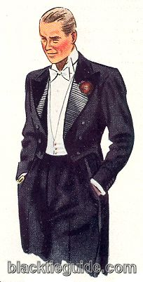 1935 illustration of the Prince with his unique waistcoat and wide collar wings.