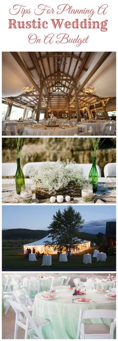 Tips For Planning A Rustic Wedding On A Budget