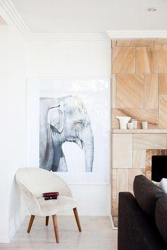 plywood veneers make cool walls