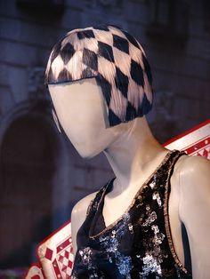 Diesel mannequin. #retail #merchandising #window_display #mannequin #wig