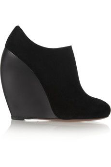 Alaïa Suede ankle boots | THE OUTNET