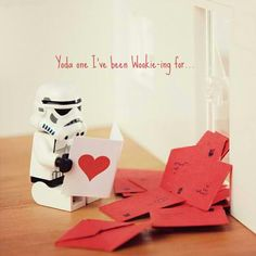 You know we love Lego and Star Wars on Bit Rebels, and when those two things mix, we see fireworks. The last time I wrote about little Lego Star Wars Star Wars Clones, Star Wars Clone Wars, Lego Star Wars, Lego Valentines, Happy Valentines Day, Starwars Valentines, Funny Valentine, Kirigami, Legos