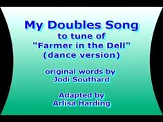 A song for teaching children their 'doubles' addition math facts.