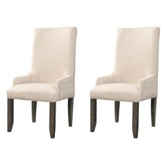 Found it at Wayfair - Beresford Rolled-Back Chairs
