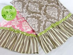 PATTERN/TUTORIAL Romantic Ruffled Pillowcases: Freshen Up for 2015