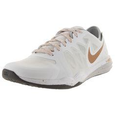 Nike Women's Dual Fusion Tr 3 Print /Mlc Gld/Wlf G Training Shoe