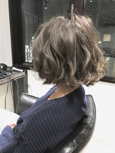 Wavy Bob Hairstyles, Pretty Hairstyles, Haircuts, Asian Short Hair, Short Hair Cuts, Beautiful Long Hair, Gorgeous Hair, Wavy Hair, New Hair