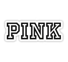 PINK PINK  Sticker