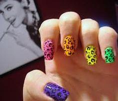 Daring nails. For those days you feel daring. :)