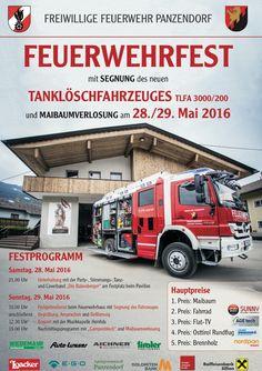 Die Babenberger - A wüde Volksmusik live am Fest der Feuerwehr Panzendorf / Tirol. Cover, Fire, Volunteer Firefighter, Worship Service