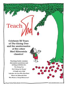 Teach Shel Silverstein - lessons and activities for classrooms - teaching poetry