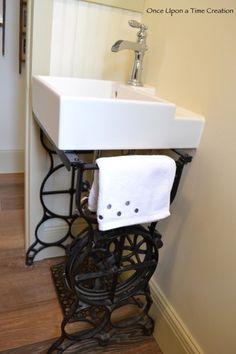 Sewing Machine Sink