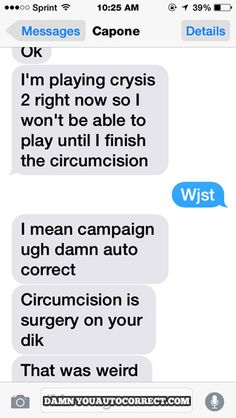 The Funniest Autocorrects Of The Month