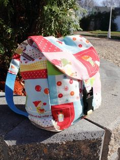 no 233 The Edan Baby Back Pack  New Pattern 50 by sewingwithme7, $3.00
