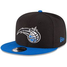 Orlando Magic New Era 2-Tone Original Fit 9FIFTY Adjustable Snapback Hat - Black/Blue