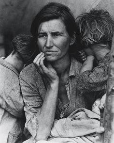 Migrant mother - Dorotea Lange