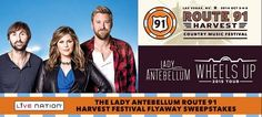 If you're a Lady Antebellum fan or you just want a trip to Las Vegas, enter this sweepstakes. The lucky winner will score a Funjet Vacations trip for two to the Lady Antebellum Route 91 …