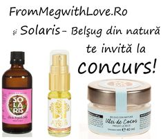 From Meg with Love Blog: Concurs Solaris & FromMegwithLove.Ro