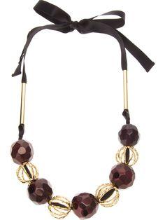MARNI beaded necklace - on Vein - getvein.com
