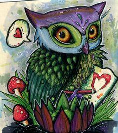 Owl You Need is Love Art Post - News - Bubblews