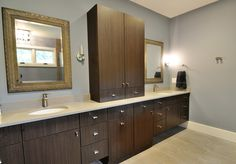 @Cambria Dover bathroom countertop by Atlanta Kitchen
