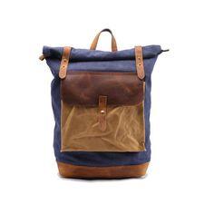 van Canvas backpack Laptop backpacks beste 12 afbeeldingen Tassen wfOnz1