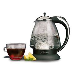Special Offers - Capresso 259 H2O Plus Glass Water Kettle Polished Chrome - In stock & Free Shipping. You can save more money! Check It (April 07 2016 at 07:15PM) >> http://sofaarmchairusa.net/capresso-259-h2o-plus-glass-water-kettle-polished-chrome/