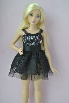 Handmade dress for Barbie Fashionistas Curvy dolls
