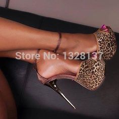 93.99$  Watch here - http://ali0zj.worldwells.pw/go.php?t=32723209767 - 2015 New Arrival Party Shoes Leopard Peep Toe Platforms Sexy High Heel Shoes Woman zapatos mujer sapatos femininos salto alto 93.99$