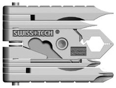 Swiss+Tech MMCSSS Micro-Max 19-in-1 Keychain Multitool : Amazon.com : Automotive