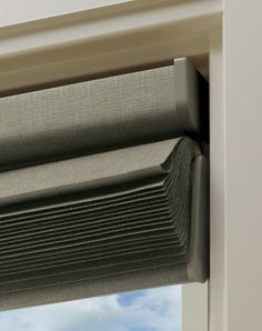 Do you want a blind that looks clean and neat when it is stacked at the top of your window? Think about going with this Solera Shade from Hunter Douglas: