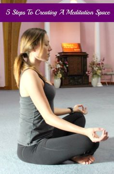 5 Steps To Creating A #Meditation Space #relax #health #beauty
