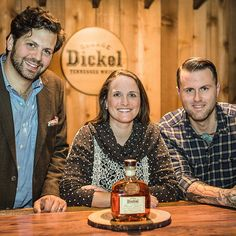 Down in Tennessee whisky is all about community. Our very own Allisa Henley partners with Nashville mixologist Freddy Schwenk (@bourbonandpomade) to mix up the finest cocktails while Whiskey Ambassador Doug Kragel (@dckragel) helps get the word out. by georgedickel