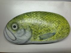 SNS DESIGNS airbrushed fish rock drought trout