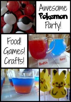 Pokemon Party Ideas @ThatMommyBlog