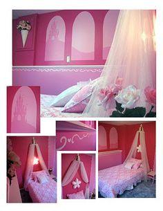 some DIY princess bedroom ideas