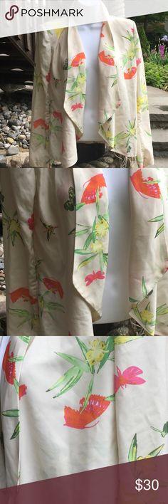 Elegant Lightweight Floral Blazer Beautiful lightweight Blazer 100% polyester H&M Jackets & Coats Blazers