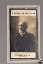 BIENVENU-MARTIN France Politics 1908 FELIX POTIN CARD
