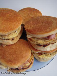 La Cuisine du Métissage: Muffins au bacon et oeufs