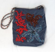 Sea shore purse