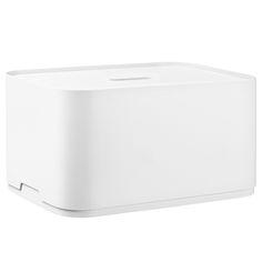 Vakka laatikko iso, valkoinen