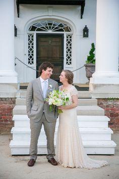 Rustic-Vintage Wedding in Charleston on Borrowed & Blue.  Photo Credit: Dana Cubbage Weddings