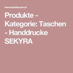 Produkte - Kategorie: Taschen - Handdrucke SEKYRA