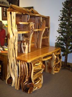 Wild Buffalo Juniper Furniture-Other Stuff! #LogFurniture Entryway Tables, Furniture, Home Decor, Rustic, Table, Living Room, Home, Homemade Home Decor, Home Furniture