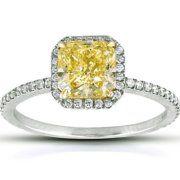 Love the yellow diamond!