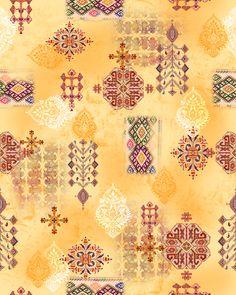 Fabric Print Design, Textile Design, Floral Design, Square Patterns, Line Patterns, Textile Prints, Textile Patterns, Flower Wallpaper, Pattern Wallpaper