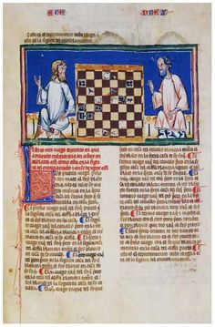 Alfonso X Book of Games. 94f